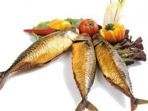 Gerookte makreel heel (ca. 300 gr.)