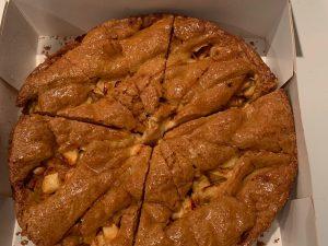 Bourgondische appeltaart (diepvries)