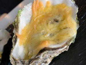 Gegratineerde oesters (3 stuks)