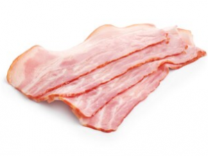 Bacon gesneden
