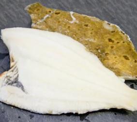 Schol panklaar met vel (300-500 gram)