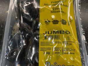 Mosselen Jumbo (2 kg)