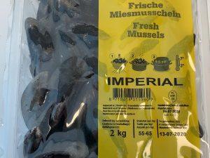 Mosselen Imperial (2 kg)